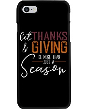 LET THANKS AND GIVING Phone Case thumbnail
