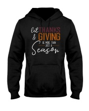 LET THANKS AND GIVING Hooded Sweatshirt thumbnail