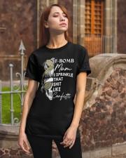 F-BOMB MOM Classic T-Shirt apparel-classic-tshirt-lifestyle-06