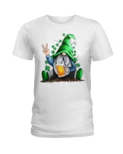 BEER GNOME Ladies T-Shirt tile