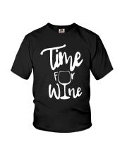 TIME FOR WINE  Youth T-Shirt thumbnail