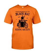 BLACK HAT RIDING SOCIETY Classic T-Shirt front