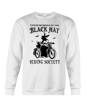 BLACK HAT RIDING SOCIETY Crewneck Sweatshirt thumbnail