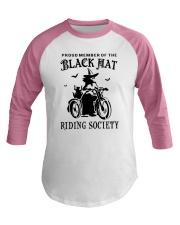 BLACK HAT RIDING SOCIETY Baseball Tee thumbnail