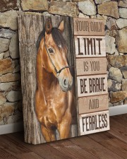 Be brave and fearless 11x14 Gallery Wrapped Canvas Prints aos-canvas-pgw-11x14-lifestyle-front-21