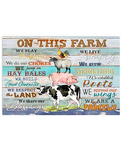 On this farm