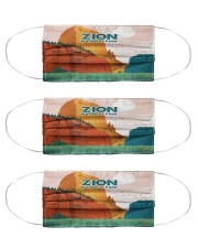Zion National park Cloth Face Mask - 3 Pack front