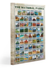62 US NPs - CV 20x30 Gallery Wrapped Canvas Prints front
