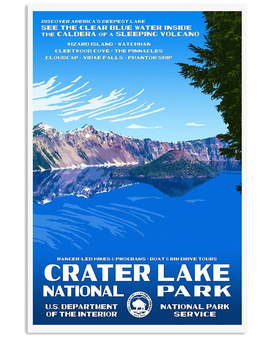 CRATER LAKE 11x17 Poster