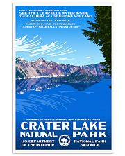 CRATER LAKE 11x17 Poster front
