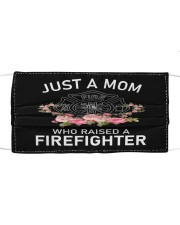Firefighter life 5 Cloth face mask front