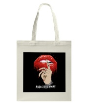 6 FEET AWAY Tote Bag thumbnail