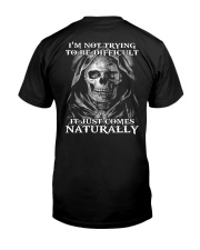 NATURALLY T-SHIRT  Classic T-Shirt back