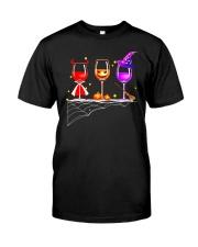 WINE HALLOWEEN Classic T-Shirt thumbnail