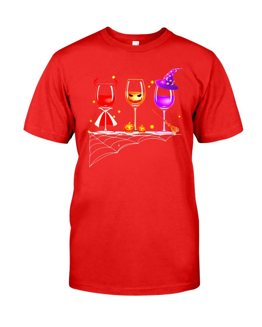 WINE HALLOWEEN Classic T-Shirt