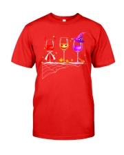 WINE HALLOWEEN Classic T-Shirt front
