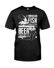 RESCUE FISH Classic T-Shirt front