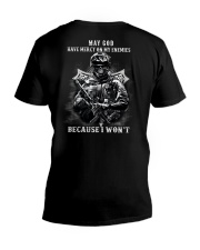 MAY GOD HAVE MERCY V-Neck T-Shirt thumbnail
