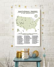 NATIONAL PARKS CHECKLIST 24x36 Poster lifestyle-holiday-poster-3