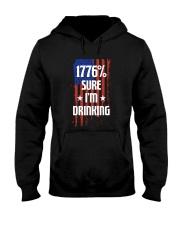 1776 PERCENT DRINKING Hooded Sweatshirt thumbnail