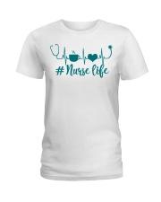 NURSE LIFE Ladies T-Shirt thumbnail