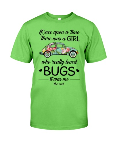 A GIRL WHO REALLY LOVED BUGS