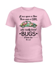 A GIRL WHO REALLY LOVED BUGS Ladies T-Shirt front