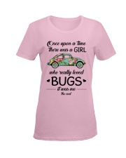 A GIRL WHO REALLY LOVED BUGS Ladies T-Shirt women-premium-crewneck-shirt-front
