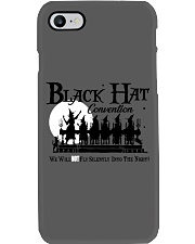 BLACK HAT CONVENTION WE WILL NOT FLY SILENTLY Phone Case thumbnail