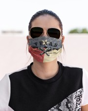 IN TEXAS WE DON'T Cloth face mask aos-face-mask-lifestyle-02
