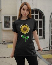 BEER - SUNFLOWER Classic T-Shirt apparel-classic-tshirt-lifestyle-19
