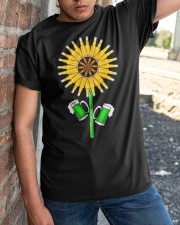 BEER - SUNFLOWER Classic T-Shirt apparel-classic-tshirt-lifestyle-27