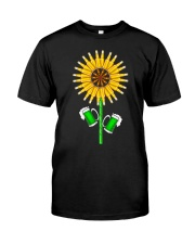 BEER - SUNFLOWER Classic T-Shirt front