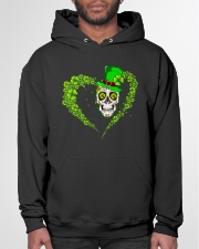 IRISH SKULL T-SHIRT Hooded Sweatshirt garment-hooded-sweatshirt-front-03