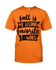 FALL SECOND WORD Classic T-Shirt thumbnail