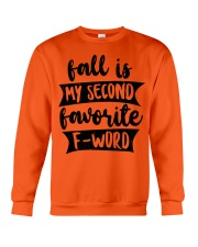 FALL SECOND WORD Crewneck Sweatshirt thumbnail