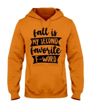 FALL SECOND WORD Hooded Sweatshirt thumbnail