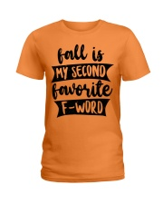 FALL SECOND WORD Ladies T-Shirt thumbnail