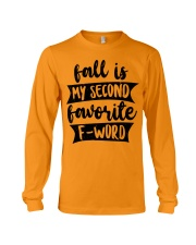 FALL SECOND WORD Long Sleeve Tee thumbnail