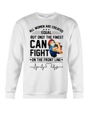 FIGHT ON THE FRONT LINE Crewneck Sweatshirt thumbnail