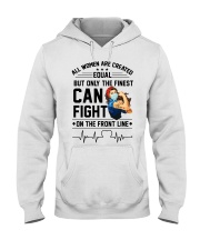 FIGHT ON THE FRONT LINE Hooded Sweatshirt thumbnail