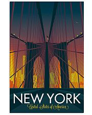 NEW YORK 11x17 Poster front