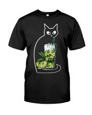 CAIPIRINHA COCKTAIL CAT Classic T-Shirt thumbnail