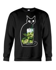 CAIPIRINHA COCKTAIL CAT Crewneck Sweatshirt thumbnail