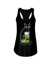 CAIPIRINHA COCKTAIL CAT Ladies Flowy Tank thumbnail