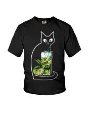 CAIPIRINHA COCKTAIL CAT Youth T-Shirt thumbnail