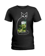 CAIPIRINHA COCKTAIL CAT Ladies T-Shirt front