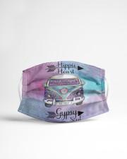 Hippie heart Gipsy soul Cloth face mask aos-face-mask-lifestyle-22