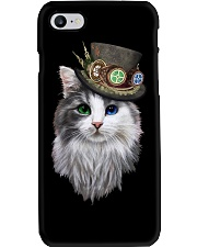 CAT WITH HAT Phone Case thumbnail
