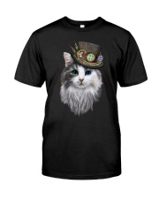 CAT WITH HAT Classic T-Shirt thumbnail